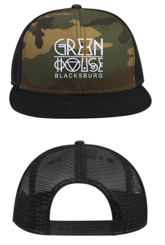 GH App's Finest hat - camo w/ mesh back