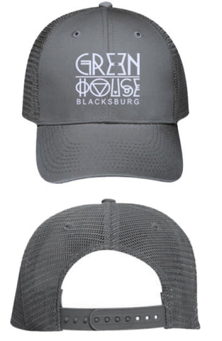 GH App's Finest hat - grey mesh back