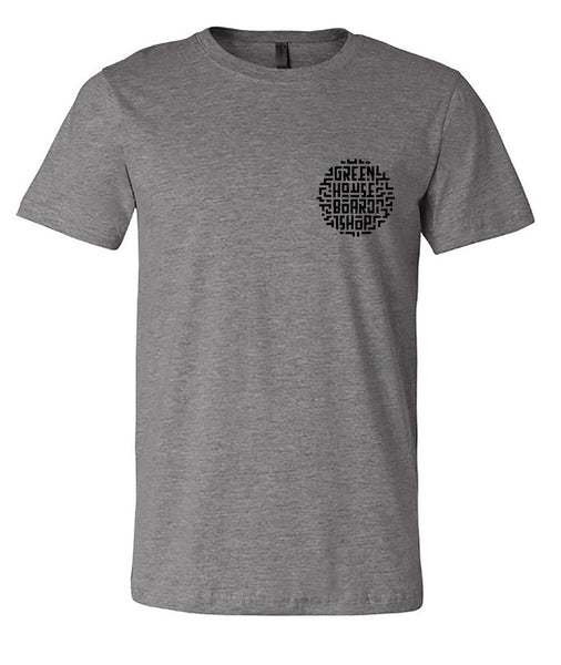 GH MANHOLE tee - graphite heather