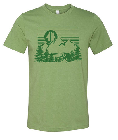 GH landscape shirt - green