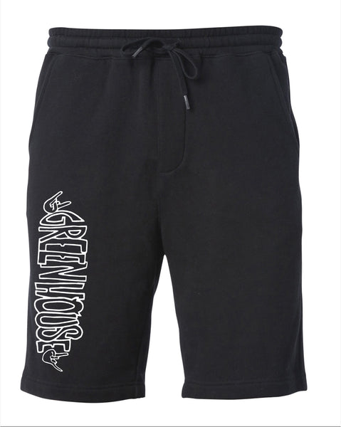 Greenhouse Fleece short  - black