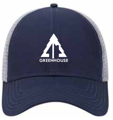 Greenhouse navy/grey mesh back hat