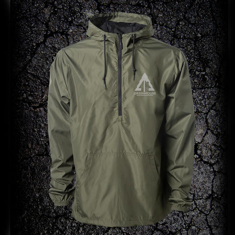 Anorak Windbreaker - army