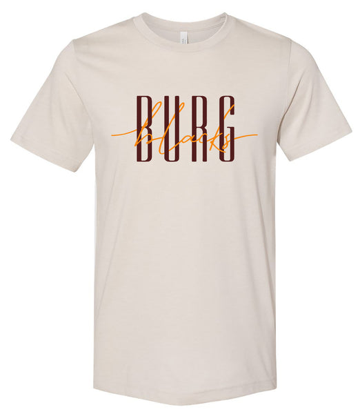 Blacksburg Intertwined tee - heather dust