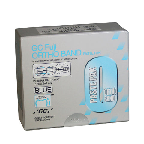 Fuji Ortho Band Paste Pak Blue (2 pack)