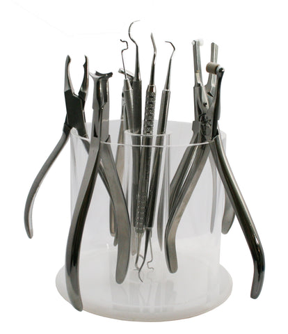 Round Plier Rack with Instrument Tube