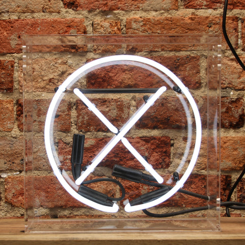 Nought & Cross Neon Light - PRE ORDER - 6 WEEK DELIVERY