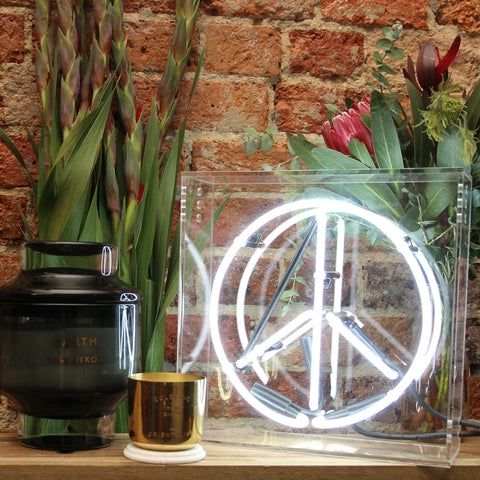 Peace Neon Light - PRE ORDER - 6 WEEK DELIVERY