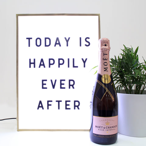 Today is Happily Ever After - HIRE ONLY