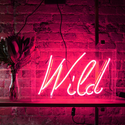 Wild Neon Light - PRE ORDER - 6 WEEK DELIVERY