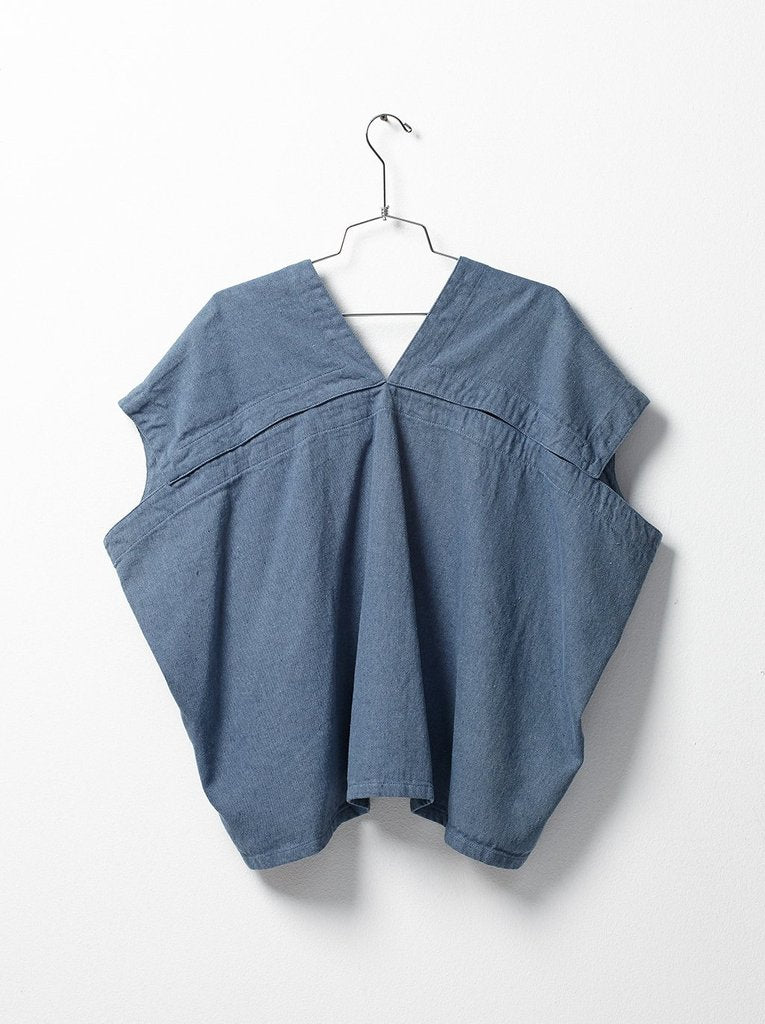 Celeste Top - Upcycled Denim