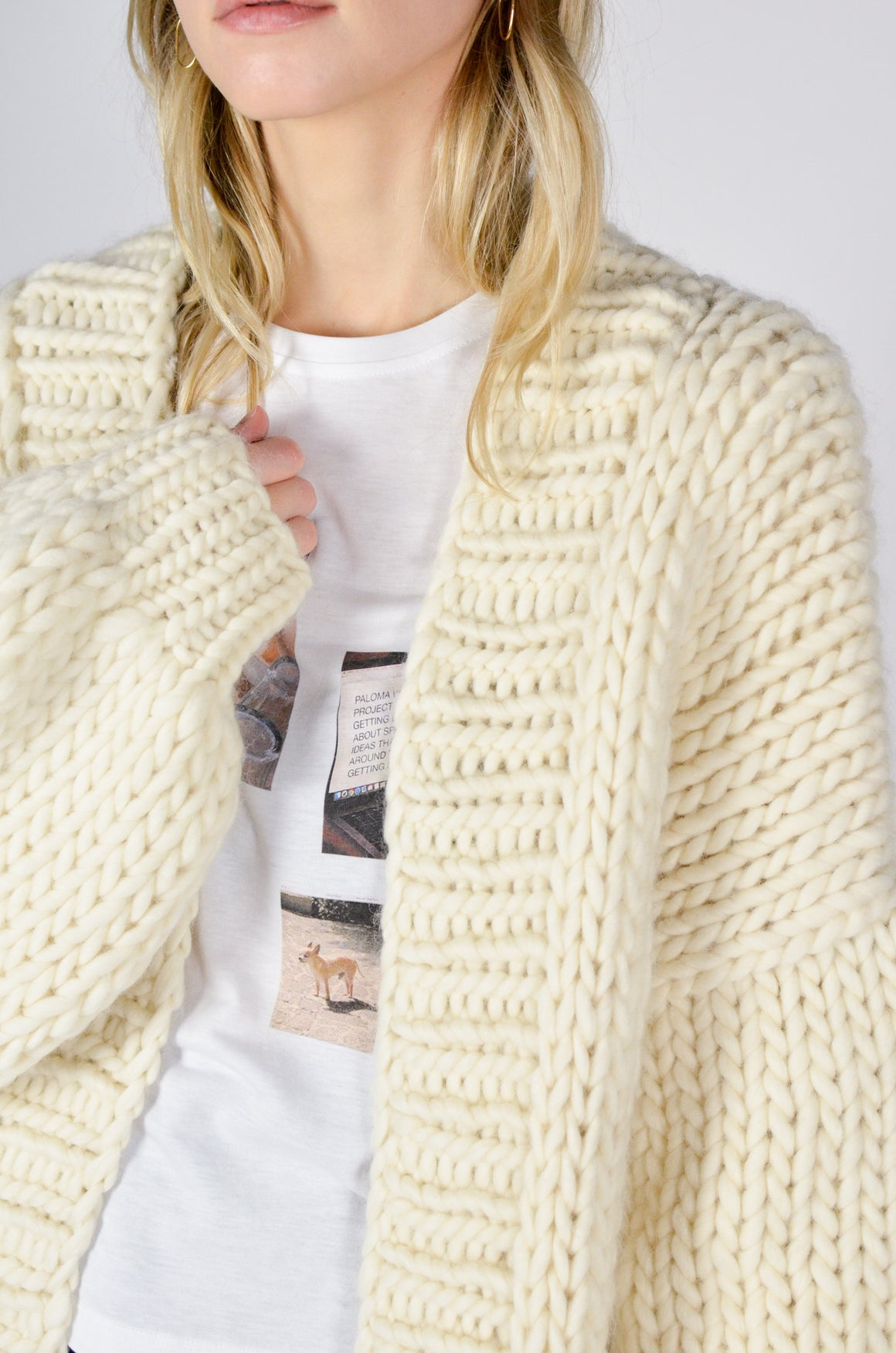 The Cardigan - Cream
