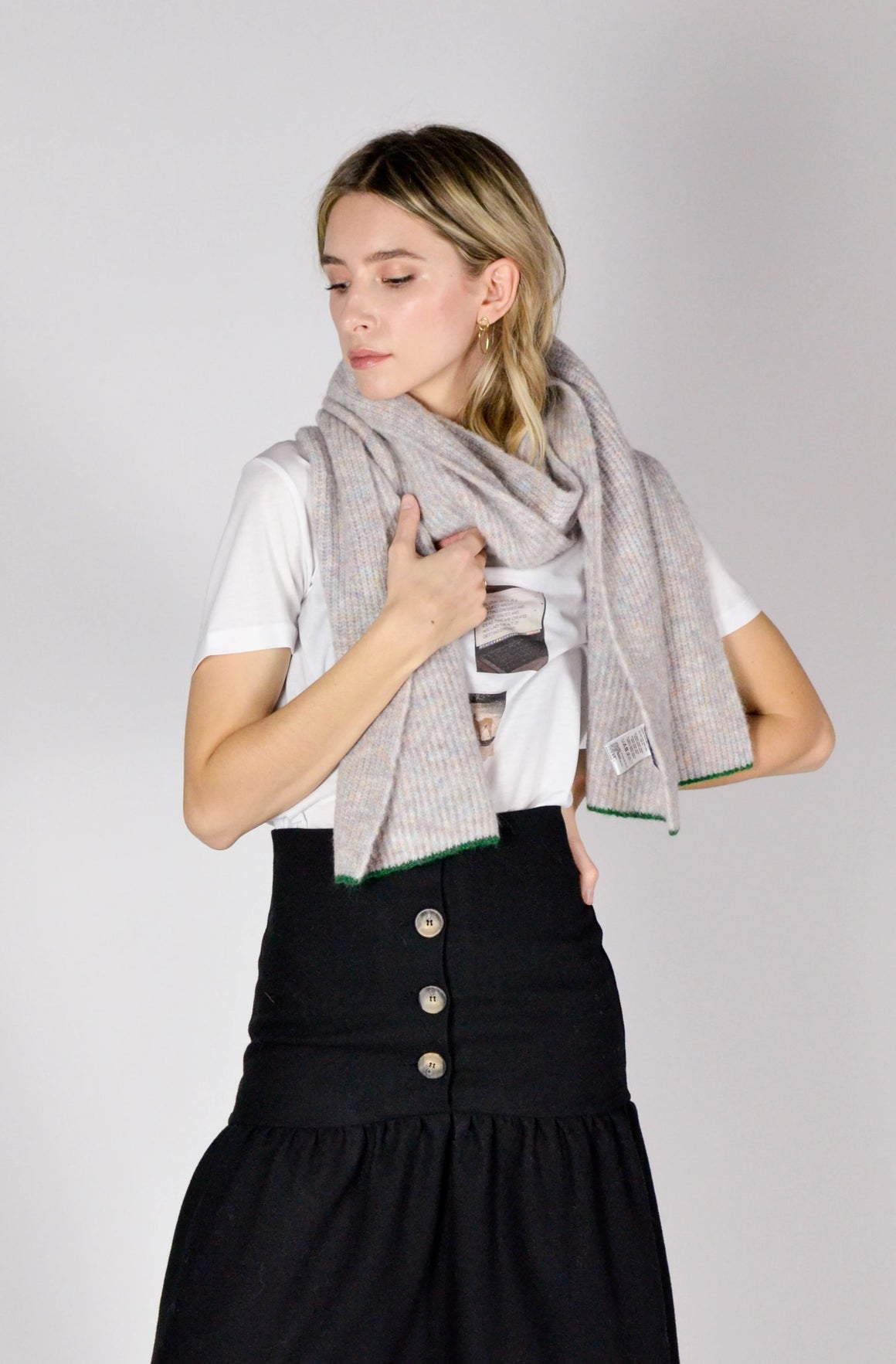 Plaza Scarf - Off-White