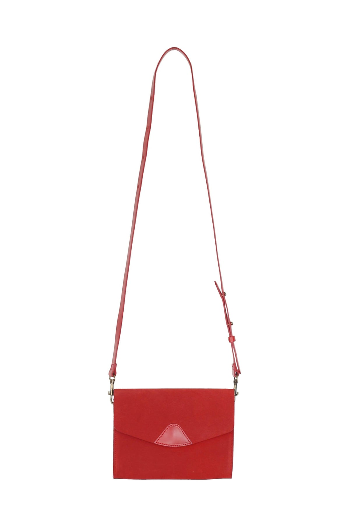 Mini Mox Bag - Cherry Suede