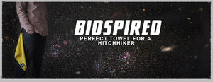 Happy Towel Day: Celebrate Douglas Adams with Biospired!