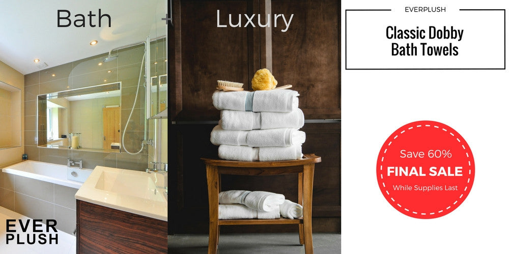 Everplush Classic Dobby Towels are luxurious and providing all of the benefits of mircofiber