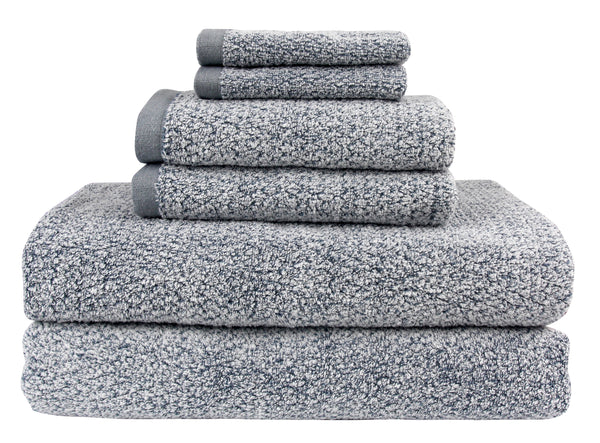 Everplush Diamond Jacquard 6 Piece Bath Sheet Value Pack