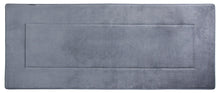 Memory Foam Runner in Slate Grey, 2 x 6 ft