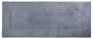 Memory Foam Runner in Slate Grey, 2 x 5 ft