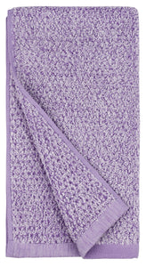 Diamond Jacquard Towels, Hand Towels - 4 Pack, Lavender