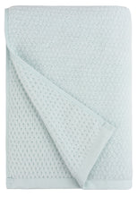 Diamond Jacquard Bath Sheet - 1 Piece, Spearmint