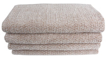 Diamond Jacquard Towels Bath Sheet - 2 Pack, Khaki (Light Brown)