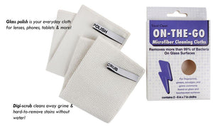 On-the-Go Digital Cleaning Cloth Kit