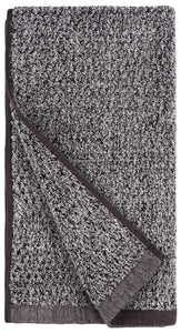 Diamond Jacquard Hand Towels - 4 Pack, Grey