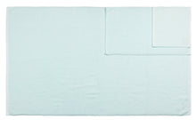 Diamond Jacquard Towels, 6 Piece Bath Sheet Towel Set, Spearmint