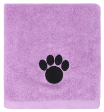 Ultra Absorbent Microfiber Pet Towel (Large (40 Inch by 28 Inch), Pink)