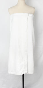 Cozy Bath Wrap Towel - White