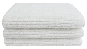 Ribbed Terry Washcloths - 3 Pack