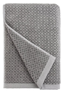 Chip Dye Diamond Jacquard Bath Towel - 1 Piece, Granite