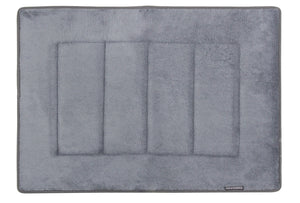 Memory Foam Bath Mat in Slate Grey, 17 x 24 in