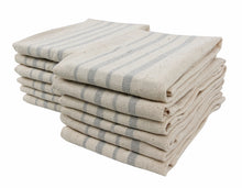 Recycled Cotton Kitchen Towels - 12 Pack, 4 colors