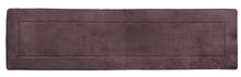 Memory Foam Runner in Coffee Brown, 2 x 5 ft