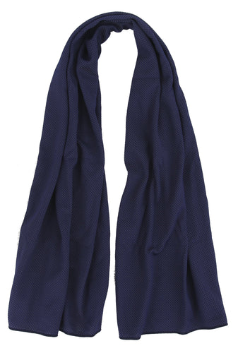 Microfiber Cooling Sports Towel in Navy