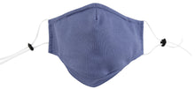 3 Ply Reusable Face Mask, Navy Blue, Large, 1 Piece