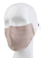3 Ply Reusable Face Mask, Dusty Pink, Small, 1 Piece
