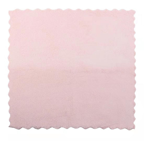 Microfiber Makeup Remover Cloths - Set of 6, Pale Pink