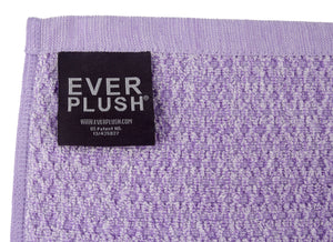 Diamond Jacquard Towels, 6 Piece Bath Sheet Towel Set, Lavender