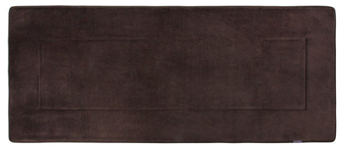 Memory Foam Runner in Coffee Brown, 2 x 6 ft