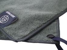 Biospired high performance microfiber towel for camping, hiking or backpacking