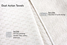 Microfiber Dish Towels, Set of 2, Charcoal