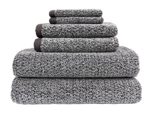 grey bath towel set everplush