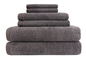 everplush flat loop bath towel set