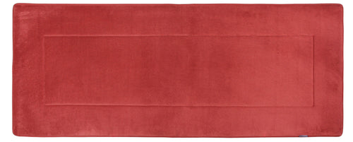 Memory Foam Runner in Marsala Red, 2 x 5 ft