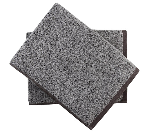 bath sheet towel set grey everplush