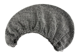 Quick Dry Hair Turban Grey - One Size