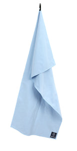 Biospired Footprint Large Pack Towel, Sky Blue
